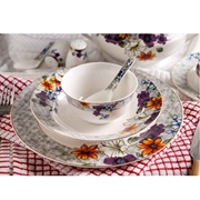 Multi Flower 46PCS Dinner Set Without Soup Set (CRK-NBC-004)