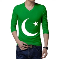14th August Green Long Sleeves T-Shirt