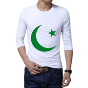 14th August White Long Sleeves T-Shirt