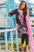 Motifz 1653-black embroidered lawn unstitched