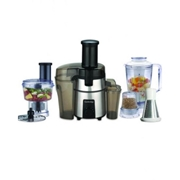 Cambridge Appliance FP 747 - Food Processor - Black & Silver