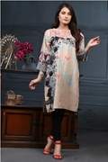 Lala Digital Kurti Powder Pink PSS17-LDR-044