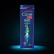 Clear Cool Sports Menthol Shampoo, 200ml