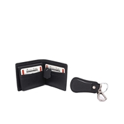 Pack of Two Leather wallet and Key ring