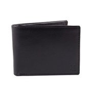 Men Leather wallet with multiple card slots