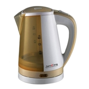 Jamsons JS-403 - Electric Kettle - 1Ltr - White & Golden