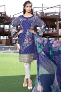 Motifz-1583-Dazzling-Blue Embroidered Lawn Unstitched
