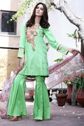 Motifz 1663-Mint-Green Embroidered Lawn Unstitched