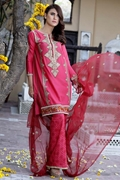 Motifz 1664-Hot-Pink Embroidered Lawn Unstitched