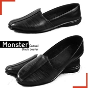 Monster Casual Black Loafer