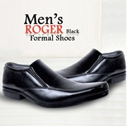 Men's Stylish Roger Black Formal Shoes