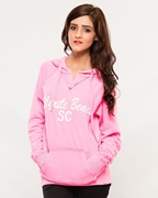 Wear Blue Pink Women Pull Over Hoodie WH-03