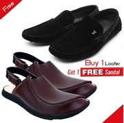 Buy 1 Loafer Get 1 Free Sandal