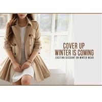 Women's Front Double Button Stylish Coat