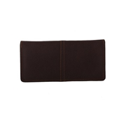 House of Leather Black Women Leather Wallet W-8100