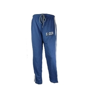 Wear Bank Blue Cotton Trouser for Men