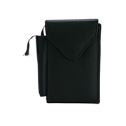 House of Leather Black Leather Casual Cigarette Pouch CG-03Gr