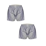 Wear Bank Pack of Two - Grey Boxers for Men BX-89