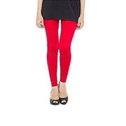 Wear Bank Red Women Cotton Tights T-1R
