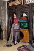 Khaddar Wool Shawl Grey UW17-LAK-001B
