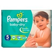Pampers Baby-Dry Jumbo  Pack of 32 [Size 5/Junior/11-25 kgs]