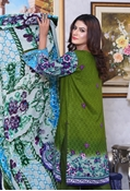 Buy SANA AND SAMIA TWILL PALACHI PRINTED  VOL 1 GREEN UW17-TPP-008B  online