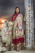 Amna Ajmal lawn Collection AA-001A