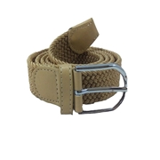 House of Leather Fawn Stretchable Cotton Belt with Metal Buckle CB-10F