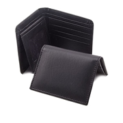 The Shopkeeper Pack of 3 - Black Wallet, Card Holder and Watch For Men - WW-09