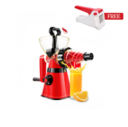 Westpoint WF-11 - Deluxe Handy Juicer - Red & Black + Free Potato Chipper