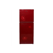 Buy GNE GR-188-17 Two Glass door Refrigerator - Red (Brand Warranty)  online