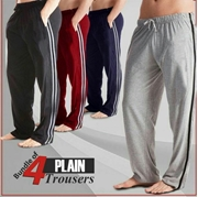 Bundle of 4 Plain Trouser
