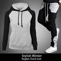 Stylish Winter Raglan Track Suit
