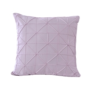 Sq. Cushion Cov Mauve Lilac