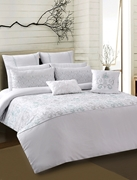 Quilt Cover Opal White