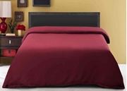 Dyed Quilt Cover Maroon