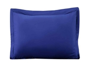 Dyed Pillow Covers Navy Blue