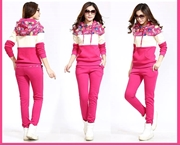 Womens  Tracksuits Foral Print Patch SKU-NY-VT-001