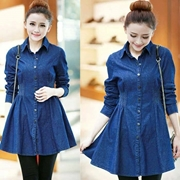 Denim Long Jackets For Women SKU-NY-VT-003