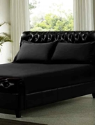 Dyed Bed Sheet Black