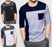 Pack Of 3 Stylish Men's  Full Sleeves T-shirt
