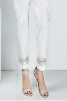 Lala Trouser White LTW17-023
