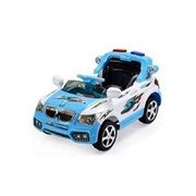 BTL Toys Ride On Car X8 - Blue & White