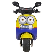 BTL Toys Ride on scooty for kids Minion Style - Blue