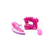 BTL Toys Toy Sewing Machine & Clothing Iron Combo Set - Multicolor