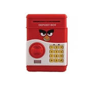 BTL Toys Angry Bird - Electronic ATM For Kids - Red