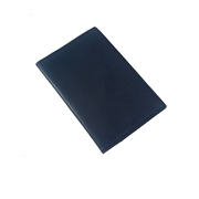 House of Leather - Blue Genuine Leather Passport Cover