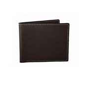 House of Leather - Chocolate Brown Leather Wallet