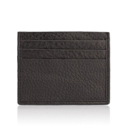 House of Leather-Black Card Holder C-6