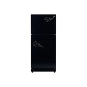 PEL Glass Door Refrigerator - PRGD-130 M - 12cft - 250 L - Black